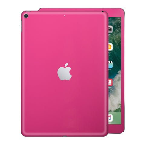 iPad 9.7 inch 2017 Glossy Magenta Skin Wrap Sticker Decal Cover Protector by EasySkinz