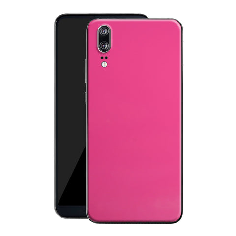 Huawei P20 Magenta Glossy Gloss Finish Skin, Decal, Wrap, Protector, Cover by EasySkinz | EasySkinz.co