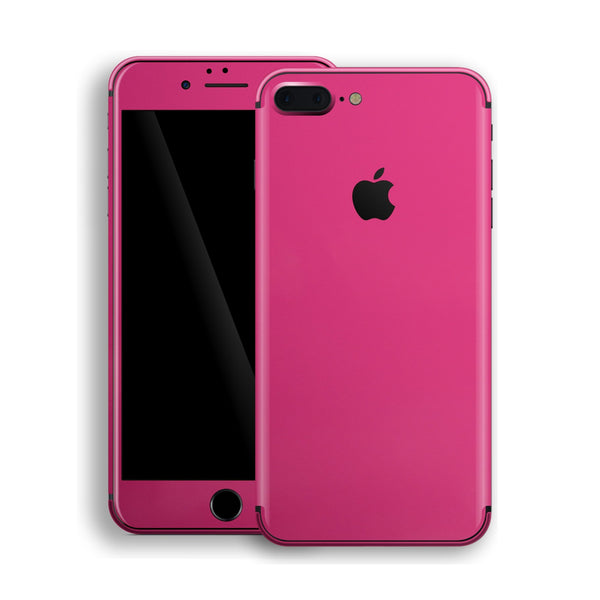 iPhone 8 Plus Magenta Glossy Gloss Finish Skin, Decal, Wrap, Protector, Cover by EasySkinz | EasySkinz.com