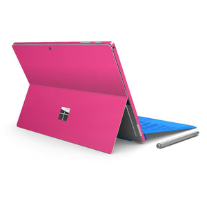 Microsoft Surface PRO 4 Glossy MAGENTA Skin Wrap Sticker Decal Cover Protector by EasySkinz