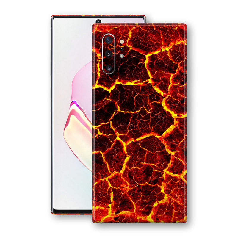 Samsung Galaxy NOTE 10+ PLUS Print Custom SIGNATURE MAGMA Skin Wrap Decal by EasySkinz