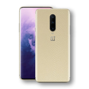 OnePlus 7 PRO Beige Mamba Snake Leather Skin, Decal, Wrap, Protector, Cover by EasySkinz | EasySkinz.com