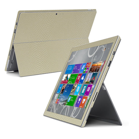 Microsoft Surface Pro 3 Beige MAMBA SNAKE Skin Wrap Sticker Cover Decal Protector by EasySkinz