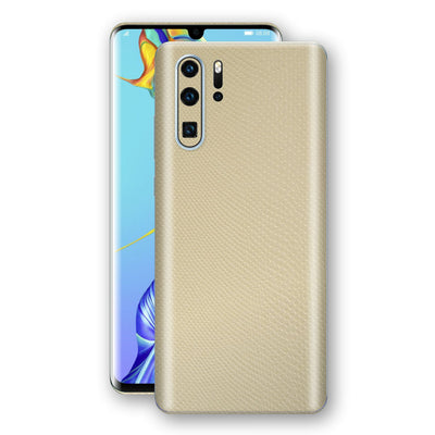 Huawei P30 PRO Beige Mamba Snake Leather Skin, Decal, Wrap, Protector, Cover by EasySkinz | EasySkinz.com