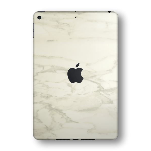 iPad MINI 5 (5th Generation 2019) Luxuria White MARBLE Skin Wrap Sticker Decal Cover Protector by EasySkinz