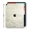 iPad PRO 11-inch 2018 Luxuria White Marble Skin Wrap Decal Protector | EasySkinz