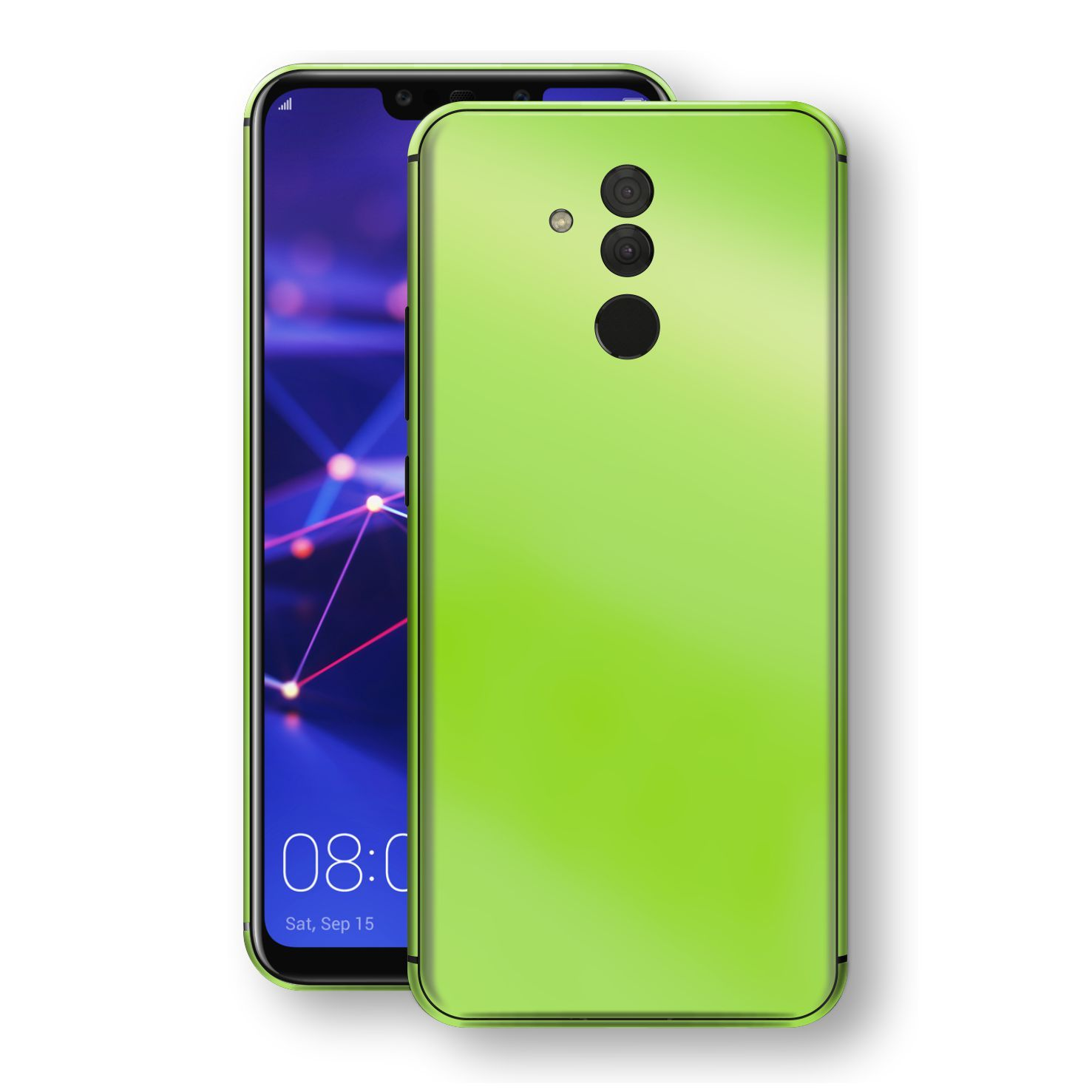 Huawei MATE 20 LITE Apple Green Pearl Gloss Finish Skin Wrap Decal Cover by EasySkinz