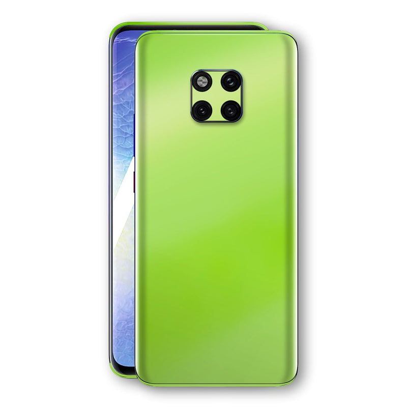 Huawei MATE 20 PRO Apple Green Pearl Gloss Finish Skin Wrap Decal Cover by EasySkinz