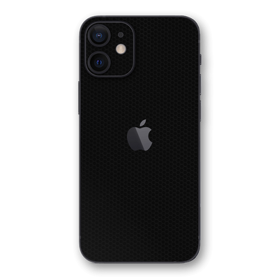 iPhone 12 Black Matrix Textured Skin Wrap Decal 3M by EasySkinz
