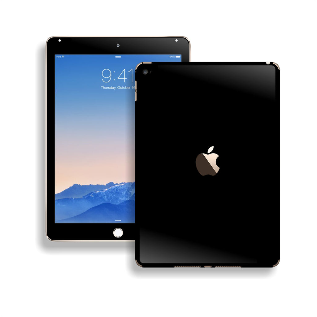 iPad Air 2 Black Matt Matte Skin Wrap Sticker Decal Cover Protector by EasySkinz