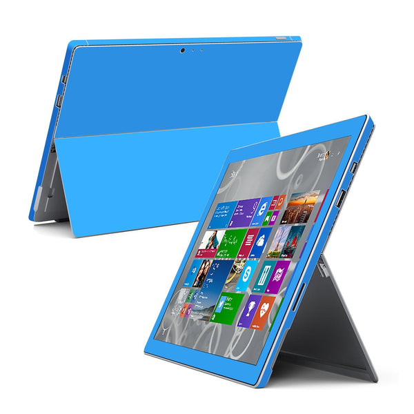 Microsoft Surface Pro 3 Blue MATT Skin Wrap Sticker Cover Decal Protector by EasySkinz