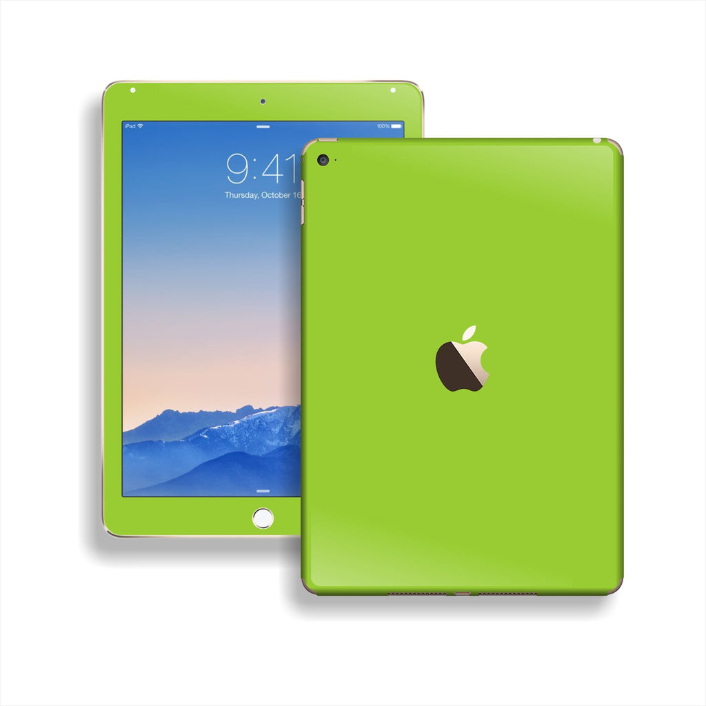 iPad Air 2 Green Matt Matte Skin Wrap Sticker Decal Cover Protector by EasySkinz