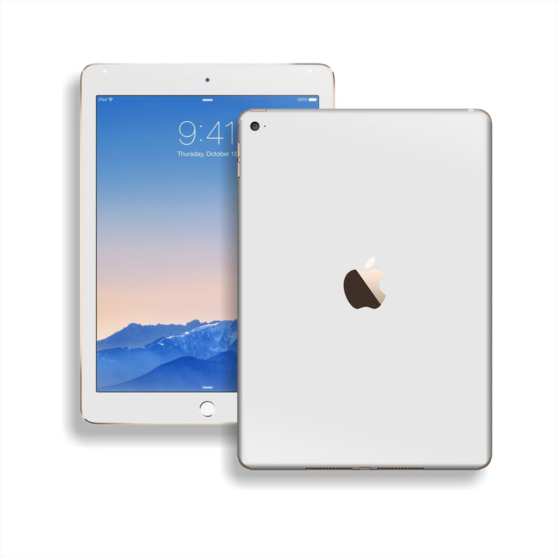 iPad Air 2 White Matt Matte Skin Wrap Sticker Decal Cover Protector by EasySkinz