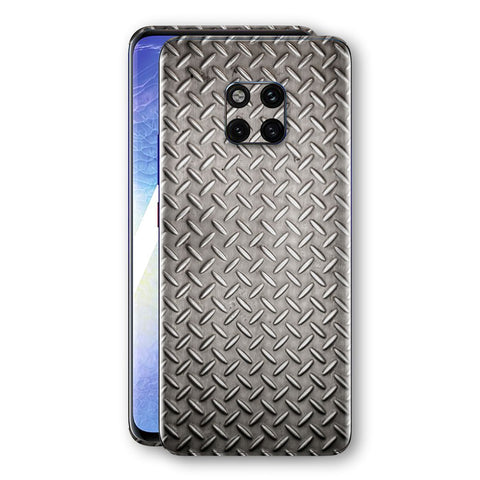 Huawei MATE 20 PRO Print Custom Signature Diamond Steel Floor Plate Skin Wrap Decal by EasySkinz