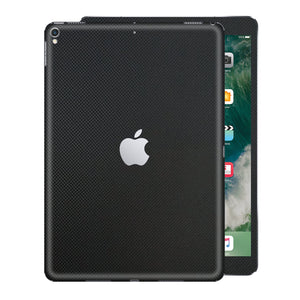 "iPad PRO 10.5"" inch 2017 MICRO 3D Textured Black CARBON Fibre Fiber Skin Wrap Sticker Decal Cover Protector by EasySkinz"