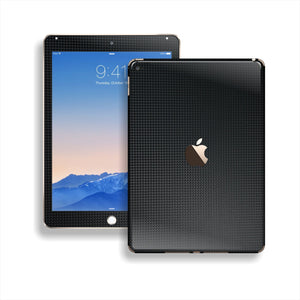 iPad Air 2 MICRO Black CARBON Fibre Fiber Skin Wrap Sticker Decal Cover Protector by EasySkinz