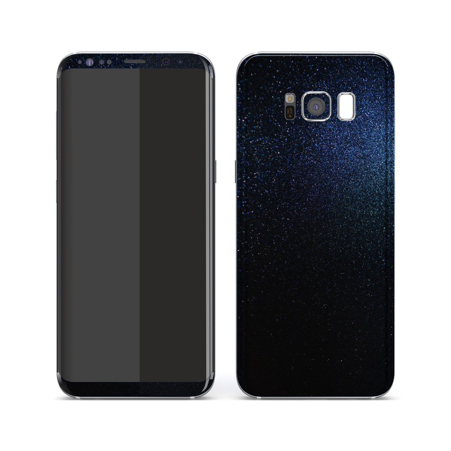 Samsung Galaxy S8+ Glossy Midnight Blue Metallic Skin, Decal, Wrap, Protector, Cover by EasySkinz | EasySkinz.com