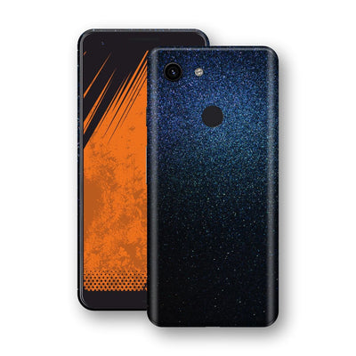 Google Pixel 3a XL Glossy Midnight Blue Metallic Skin, Decal, Wrap, Protector, Cover by EasySkinz | EasySkinz.com