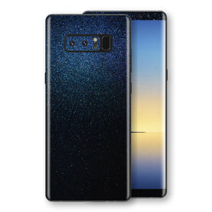 Samsung Galaxy NOTE 8 Glossy Midnight Blue Metallic Skin, Decal, Wrap, Protector, Cover by EasySkinz | EasySkinz.com