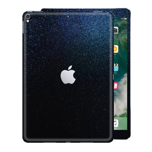 iPad PRO 10.5 inch 2017 Glossy Midnight Blue Metallic Skin Wrap Sticker Decal Cover Protector by EasySkinz