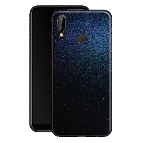 Huawei P20 LITE Glossy Midnight Blue Metallic Skin, Decal, Wrap, Protector, Cover by EasySkinz | EasySkinz.com