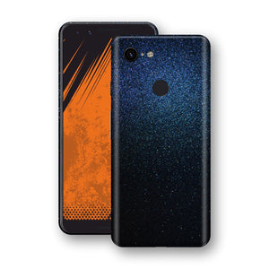 Google Pixel 3 Glossy Midnight Blue Metallic Skin, Decal, Wrap, Protector, Cover by EasySkinz | EasySkinz.com