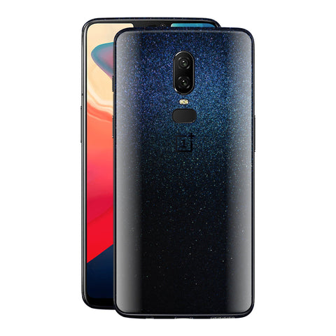 OnePlus 6 GLOSSY MIDNIGHT BLUE Metallic Skin, Decal, Wrap, Protector, Cover by EasySkinz | EasySkinz.com