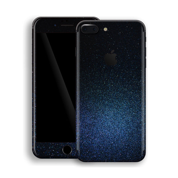 iPhone 8 Plus Glossy Midnight Blue Metallic Skin, Decal, Wrap, Protector, Cover by EasySkinz | EasySkinz.com