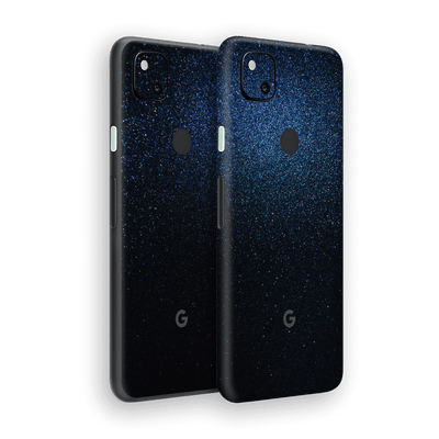 Google Pixel 4a Glossy Midnight Blue Metallic Skin Wrap Sticker Decal Cover Protector by EasySkinz