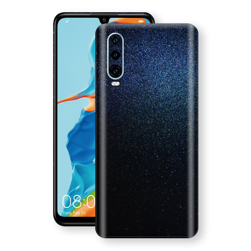 Huawei P30 Glossy Midnight Blue Metallic Skin, Decal, Wrap, Protector, Cover by EasySkinz | EasySkinz.com