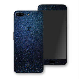 OnePlus 5 Glossy Midnight Blue Metallic Skin, Decal, Wrap, Protector, Cover by EasySkinz | EasySkinz.com