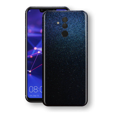Huawei MATE 20 LITE Glossy Midnight Blue Metallic Skin, Decal, Wrap, Protector, Cover by EasySkinz | EasySkinz.com
