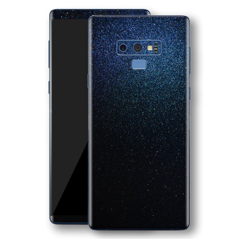 Samsung Galaxy NOTE 9 Glossy Midnight Blue Metallic Skin, Decal, Wrap, Protector, Cover by EasySkinz | EasySkinz.com