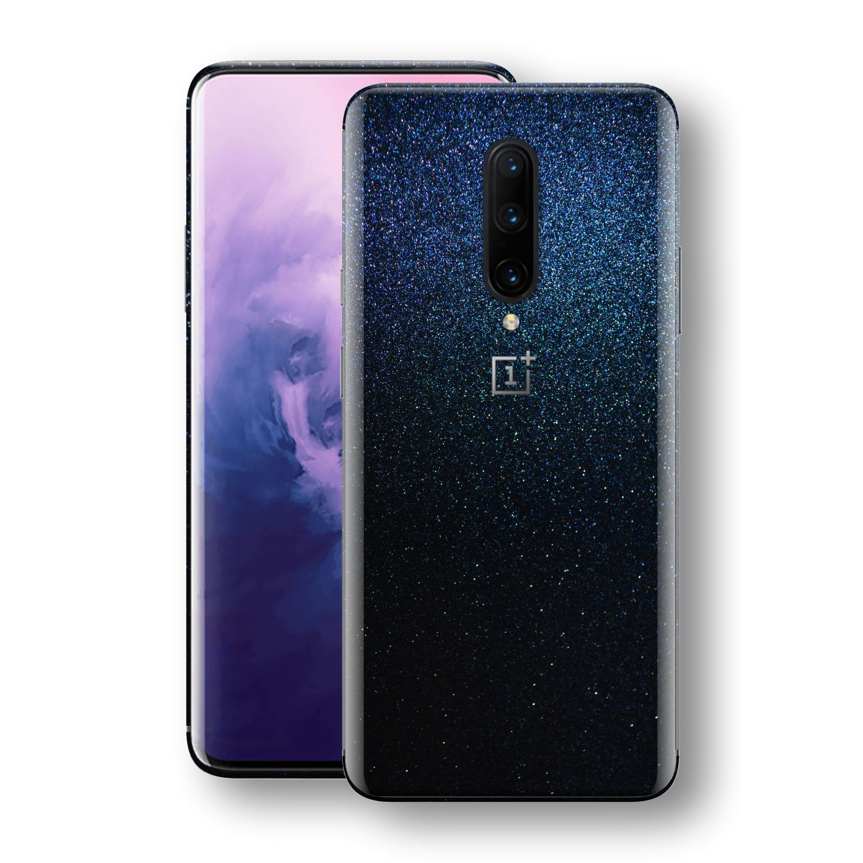 OnePlus 7 PRO Glossy Midnight Blue Metallic Skin, Decal, Wrap, Protector, Cover by EasySkinz | EasySkinz.com