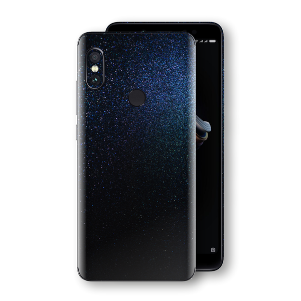 XIAOMI Redmi NOTE 5 Glossy Midnight Blue Metallic Skin, Decal, Wrap, Protector, Cover by EasySkinz | EasySkinz.com