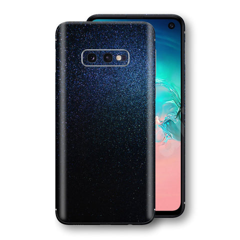Samsung Galaxy S10e Glossy Midnight Blue Metallic Skin, Decal, Wrap, Protector, Cover by EasySkinz | EasySkinz.com