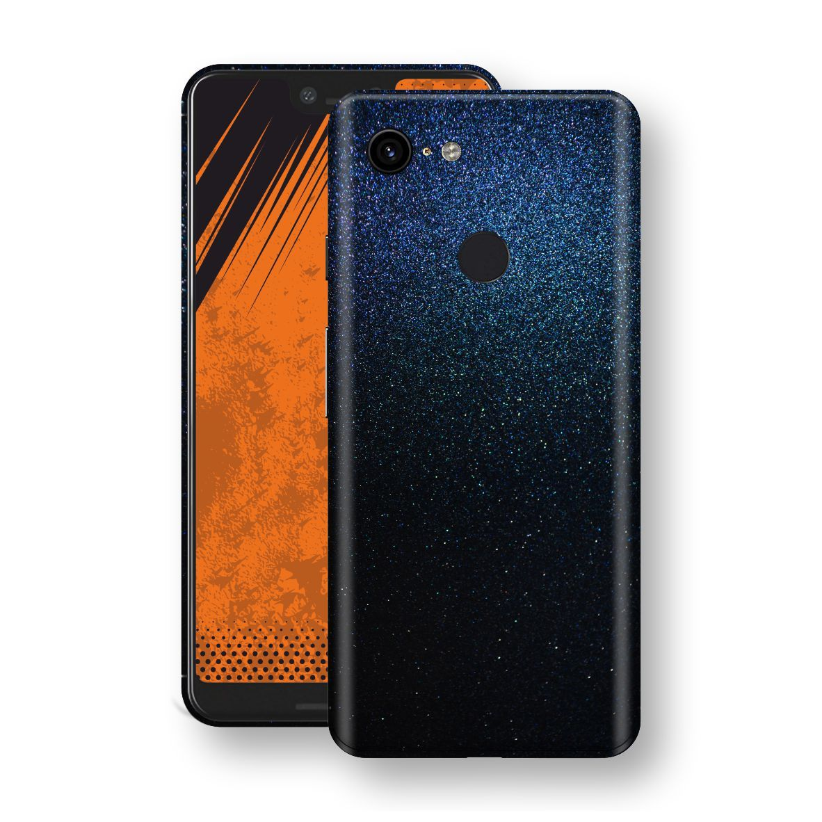 Google Pixel 3 XL Glossy Midnight Blue Metallic Skin, Decal, Wrap, Protector, Cover by EasySkinz | EasySkinz.com