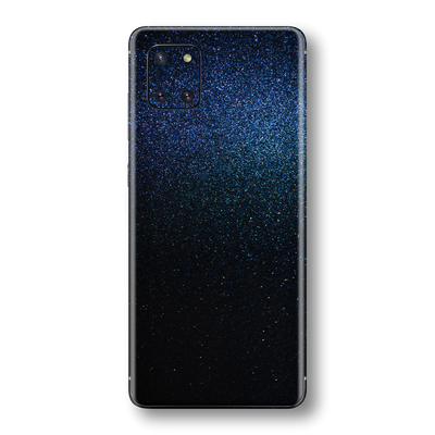 Samsung Galaxy NOTE 10 LITE Glossy Midnight Blue Metallic Skin Wrap Sticker Decal Cover Protector by EasySkinz