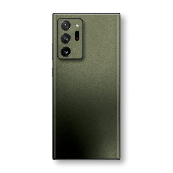 Samsung Galaxy NOTE 20 ULTRA Military Green Matt Matte Metallic Skin Wrap Sticker Decal Cover Protector by EasySkinz
