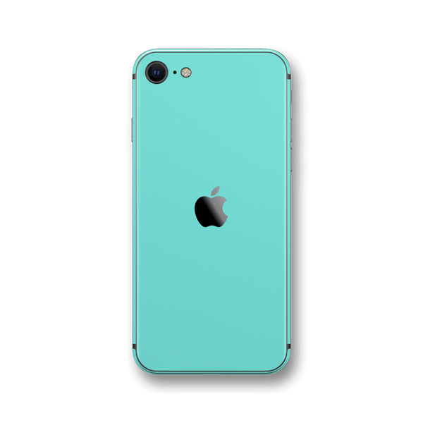 iPhone SE (2020) MINT Matt Skin Wrap Sticker Decal Cover Protector by EasySkinz