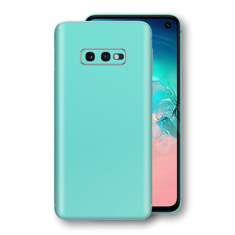 Samsung Galaxy S10e MINT Matt Skin, Decal, Wrap, Protector, Cover by EasySkinz | EasySkinz.com