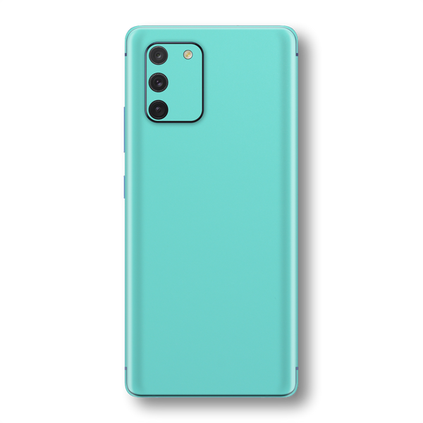 Samsung Galaxy S10 LITE MINT Matt Skin Wrap Sticker Decal Cover Protector by EasySkinz