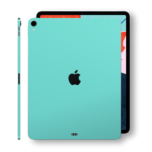 iPad PRO 12.9 inch 3rd Generation 2018 Matt Matte MINT Skin Wrap Sticker Decal Cover Protector by EasySkinz