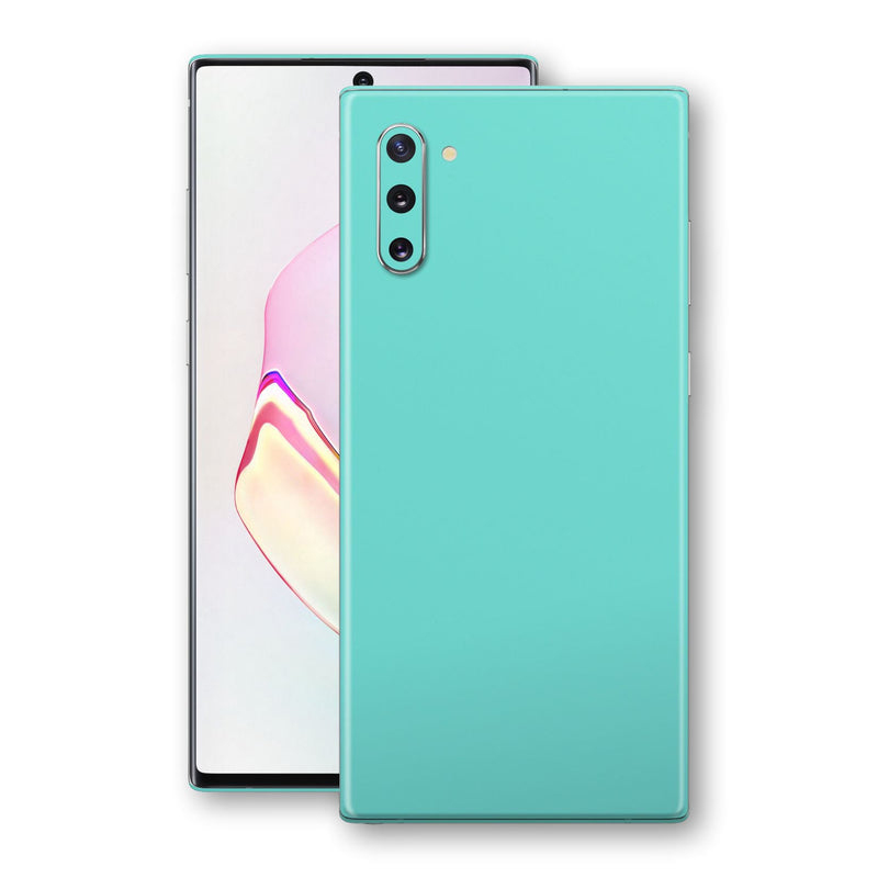 Samsung Galaxy NOTE 10 MINT Matt Skin, Decal, Wrap, Protector, Cover by EasySkinz | EasySkinz.com