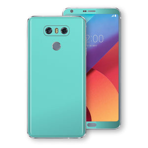 LG G6 MINT Matt Skin, Decal, Wrap, Protector, Cover by EasySkinz | EasySkinz.com