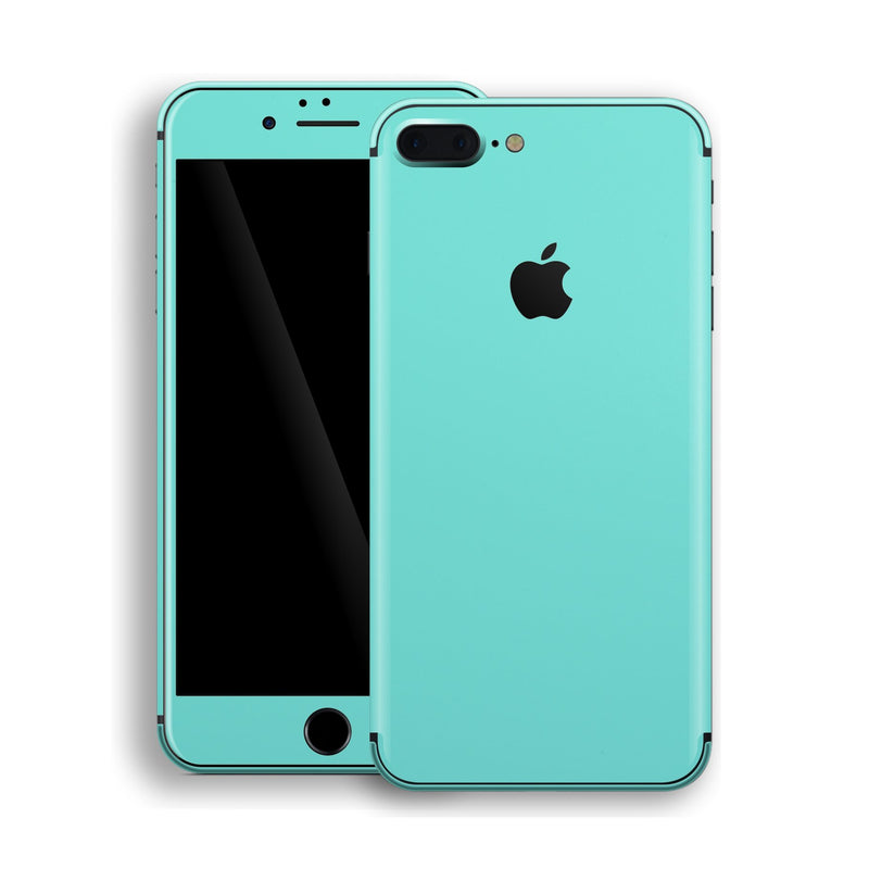 iPhone 8 Plus MINT Matt Skin, Decal, Wrap, Protector, Cover by EasySkinz | EasySkinz.com