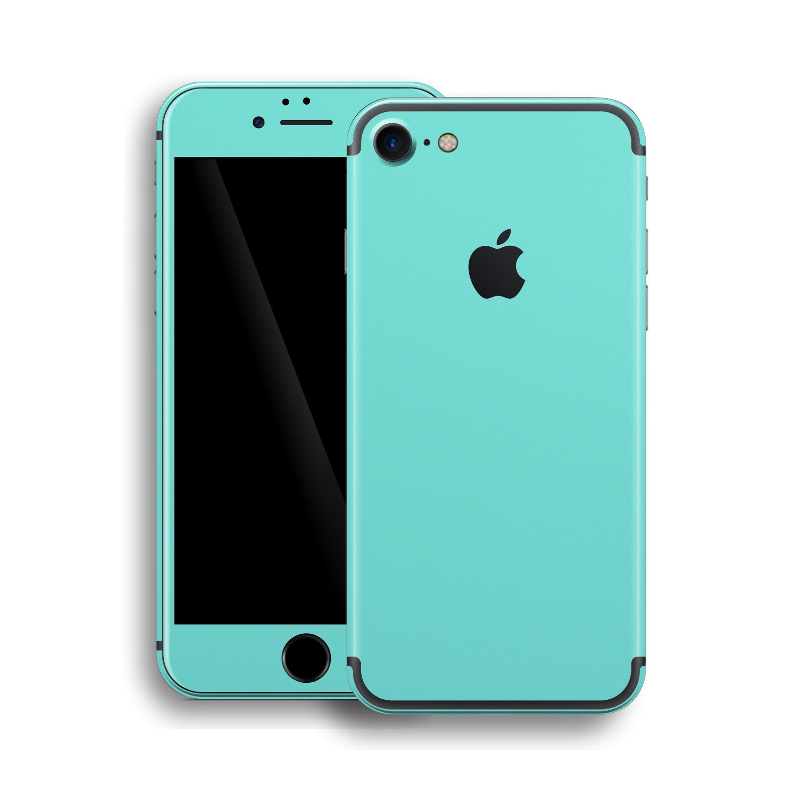 iPhone 7 Mint Matt Matte Skin, Wrap, Decal, Protector, Cover by EasySkinz | EasySkinz.com