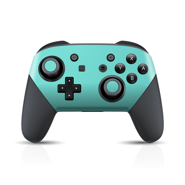 Nintendo Switch Pro CONTROLLER Matt Matte MINT Skin Wrap Sticker Decal Cover Protector by EasySkinz