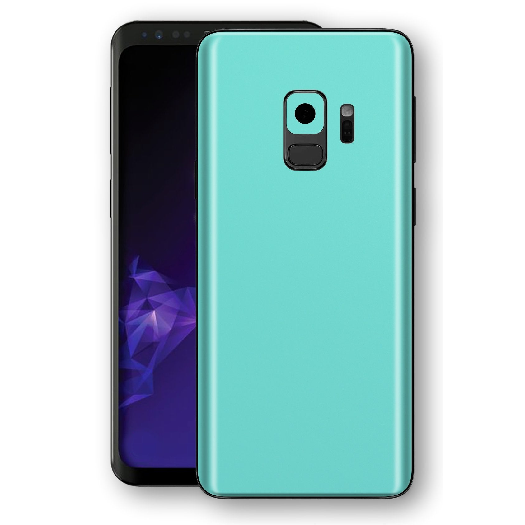 Samsung GALAXY S9 MINT MATT Skin, Decal, Wrap, Protector, Cover by EasySkinz | EasySkinz.com
