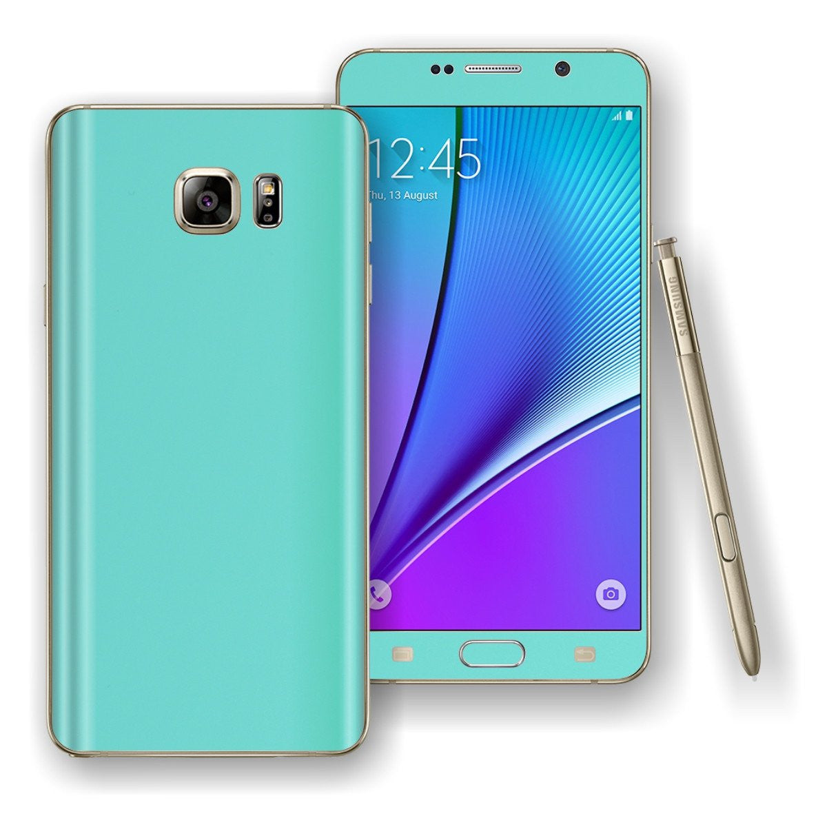 Samsung Galaxy NOTE 5 Mint Matt Skin Wrap Decal Cover Protector by EasySkinz